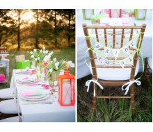 Neon Bridal Shower Printables Collection