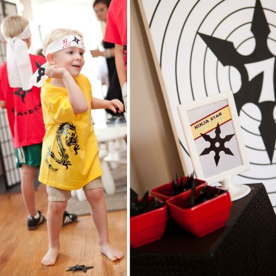 Ninja Birthday Party Printable Activity Game Set