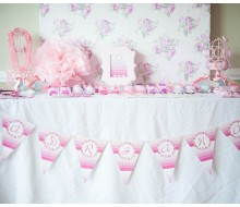 Ombre Princess Whimsical Birthday Party Printables Collection