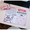 Pizzeria Pizza Party Printable Activity Coloring Page