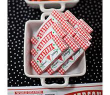 Pizzeria Pizza Party Printable Crayon Box Template