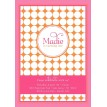 Polka Dot Birthday Party Printable Invitation - Pink Orange