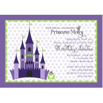 Princess and the Frog Fairy Tale Printable Invitation