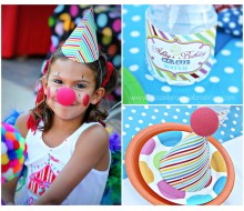 Rainbow Carnival Party Printables Collection
