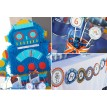 Robot Birthday Party Printable Collection