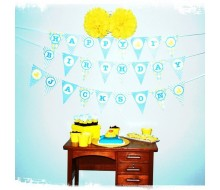 Rubber Duckie Birthday Party Printables Collection