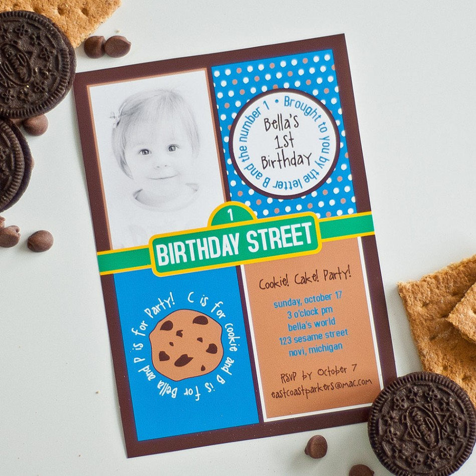 Very Best Cookie Monster Birthday Party Invitation 950 x 950 · 216 kB · jpeg