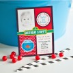 Elmo Birthday Party - Sesame Street Inspired Printable Invitation