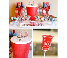 Red Solo Cup Birthday Party Printables Collection