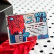Super Spider Super Hero Printable Photo Invitation