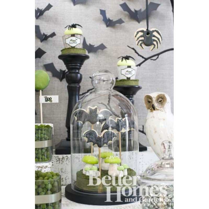 Exclusive spooky forest halloween printable party decor for Home and garden halloween decorations