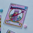 Super Hero Valentine's Day Printable Card Set - Instant Download