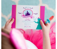 Swan Princess Party Printable Invitation