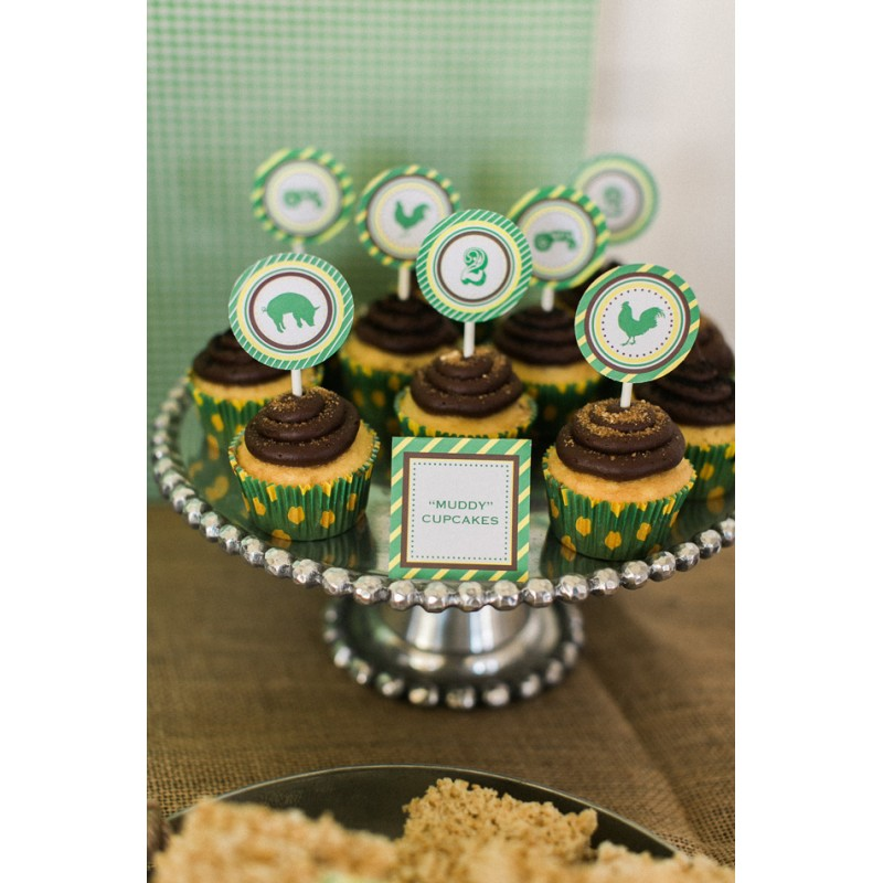 Tractor John Deere Inspired Birthday Party Printables ...