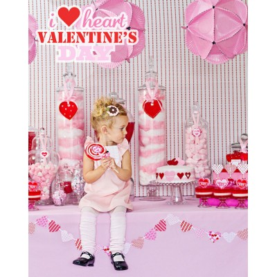 I Heart Valentines Day Printables - DIY Collection - Instant Download