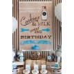 "Vintage Milk and Cookies Party Printable Welcome Sign - 20"" x 30"""