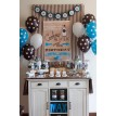 Vintage Milk and Cookies Party Printables Collection - Blue