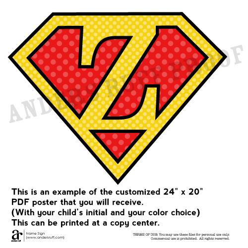 graphic relating to Superhero Logos Printable titled Traditional Tremendous Hero Printable Tremendous Logo