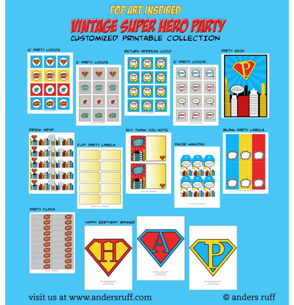 Vintage Super Hero 41