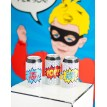 Vintage Super Hero Soda Pop Can Wraps - Instant Download