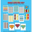 Vintage Super Hero Printable Collection
