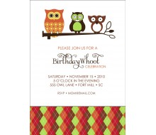 Owl Celebration Whoot Owl Printable Invitation